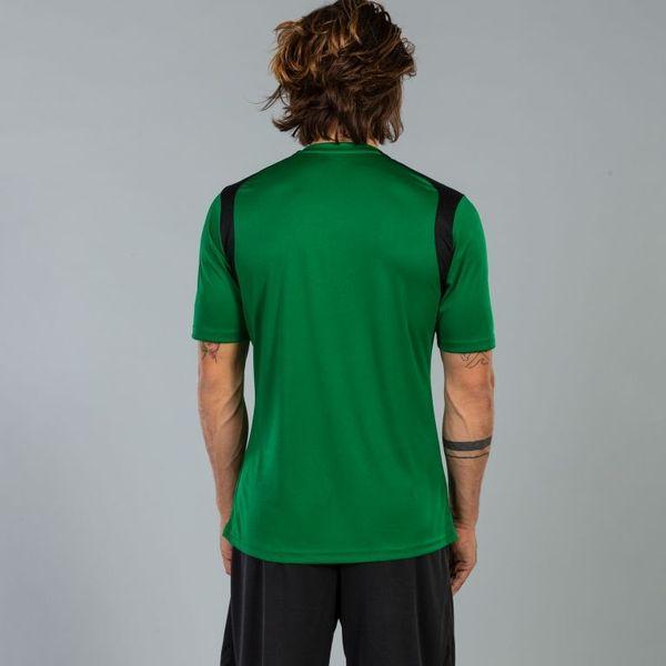 Joma Champion V Shirt Korte Mouw Heren - Groen / Zwart
