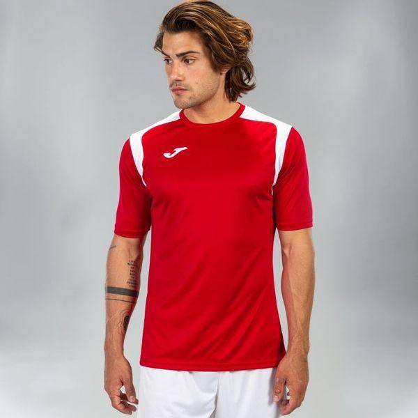 Joma Champion V Shirt Korte Mouw Heren - Rood / Wit