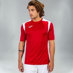 Voorvertoning: Joma Champion V Shirt Korte Mouw Heren - Rood / Wit
