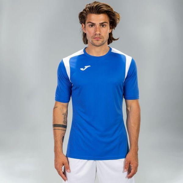 Joma Champion V Shirt Korte Mouw Heren - Royal / Wit