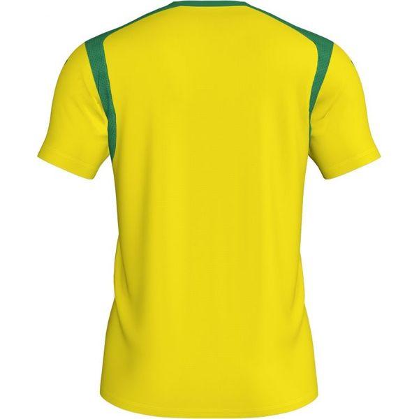 Joma Champion V Shirt Korte Mouw Heren - Geel / Groen