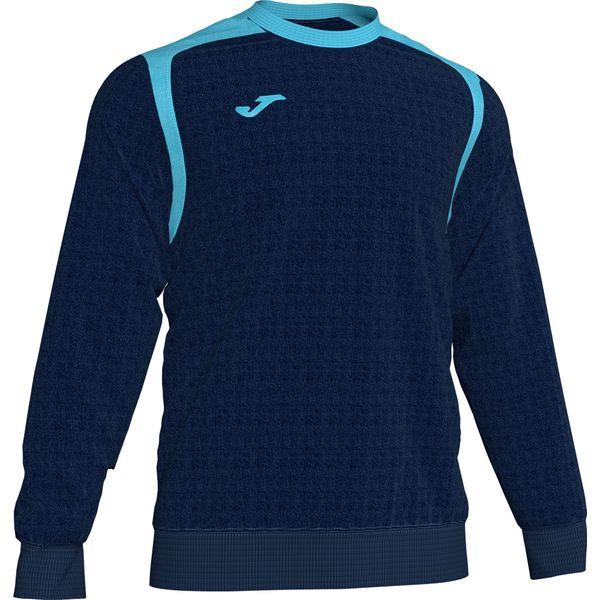 Joma Champion V Sweater Heren - Donker Navy / Fluor Turquoise