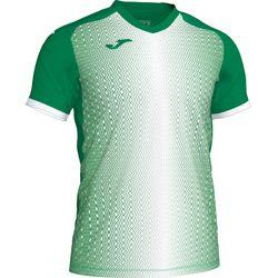 Joma Supernova Shirt Korte Mouw Kinderen - Groen / Wit
