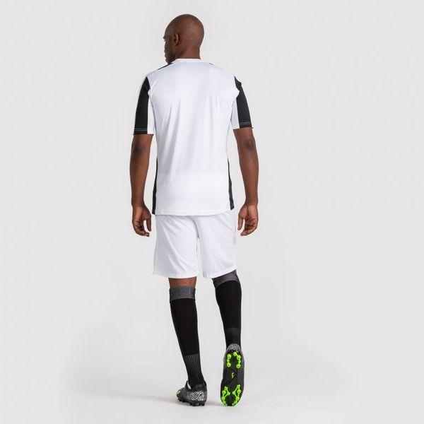 Joma Inter Shirt Korte Mouw Kinderen - Wit / Zwart