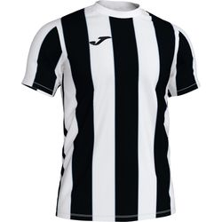 Joma Inter Shirt Korte Mouw Heren - Wit / Zwart
