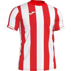 Voorvertoning: Joma Inter Shirt Korte Mouw Kinderen - Rood / Wit