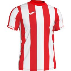 Joma Inter Shirt Korte Mouw Heren - Rood / Wit