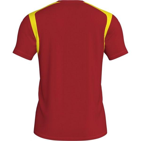 Joma Inter Shirt Korte Mouw Kinderen - Rood / Geel