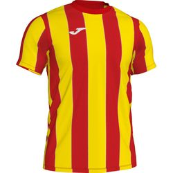 Joma Inter Maillot Manches Courtes Hommes - Rouge / Jaune