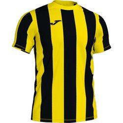 Joma Inter Shirt Korte Mouw Heren - Geel / Zwart