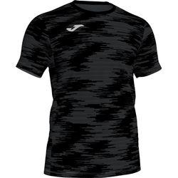 Joma Grafity Shirt Korte Mouw - Antraciet