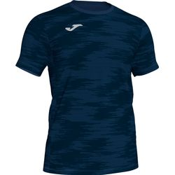 Joma Grafity Shirt Korte Mouw Kinderen - Marine