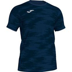 Joma Grafity Shirt Korte Mouw - Marine
