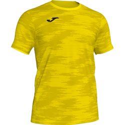 Joma Grafity Shirt Korte Mouw - Geel