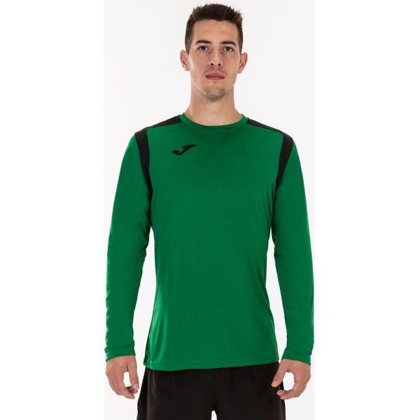 Joma Champion V Voetbalshirt Lange Mouw Heren - Groen / Zwart