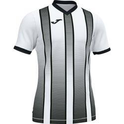 Joma Tiger II Shirt Korte Mouw Kinderen - Wit / Zwart