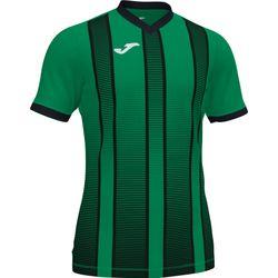 Joma Tiger II Shirt Korte Mouw Kinderen - Groen / Zwart