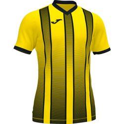 Joma Tiger II Shirt Korte Mouw Kinderen - Geel / Zwart