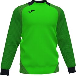 Joma Essential II Sweater Kinderen - Fluo Groen / Zwart