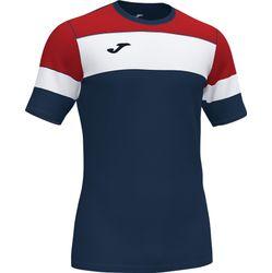 Joma Crew IV T-Shirt Hommes - Marine / Rouge / Blanc