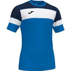 Joma Crew IV T-Shirt Hommes - Royal / Marine / Blanc