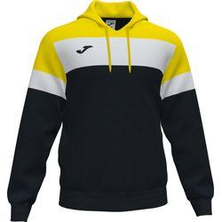 Joma Crew IV Sweater Met Kap Heren - Zwart / Geel / Wit