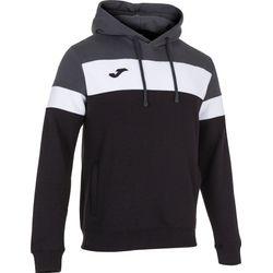 Joma Crew IV Sweater Met Kap Heren - Zwart / Antraciet / Wit