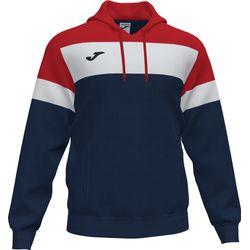 Joma Crew IV Sweater Met Kap Heren - Marine / Rood / Wit