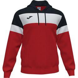 Joma Crew IV Sweater Met Kap Heren - Rood / Zwart / Wit