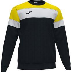 Joma Crew IV Sweater Heren - Zwart / Geel / Wit