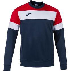 Joma Crew IV Sweater Heren - Marine / Rood / Wit