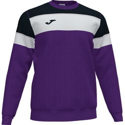 Joma Crew IV Sweater Heren - Paars / Zwart / Wit