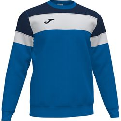 Joma Crew IV Sweater Heren - Royal / Marine / Wit