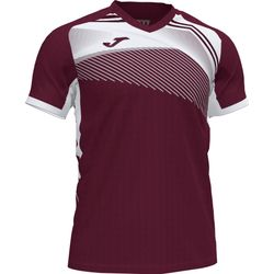 Joma Supernova Ii T-Shirt - Bordeaux / Wit