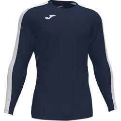 Joma Academy III Voetbalshirt Lange Mouw Kinderen - Marine / Wit