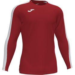 Joma Academy III Voetbalshirt Lange Mouw Heren - Rood / Wit