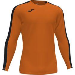 Joma Academy III Voetbalshirt Lange Mouw - Oranje / Zwart