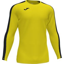 Joma Academy III Voetbalshirt Lange Mouw - Geel / Zwart