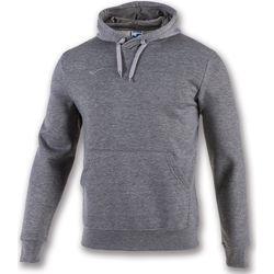 Joma Atenas II Sweater Met Kap Kinderen - Lichtgrijs Gemeleerd