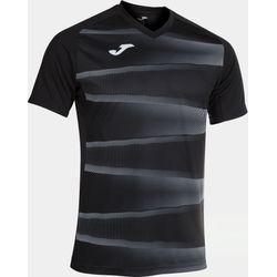 Joma Grafity II Shirt Korte Mouw Heren - Zwart / Antraciet