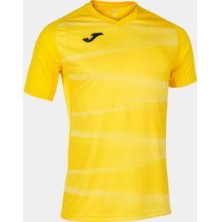 Joma Grafity II Shirt Korte Mouw Heren - Geel / Wit