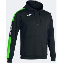Joma Championship IV Sweater Met Kap Heren - Zwart / Fluo Groen