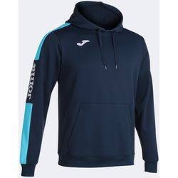 Joma Championship IV Sweater Met Kap Heren - Marine / Fluor Turquoise