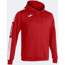 Joma Championship IV Sweater Met Kap Kinderen - Rood / Wit