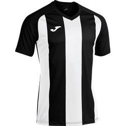Joma Pisa II Shirt Korte Mouw - Zwart / Wit