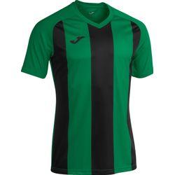 Joma Pisa II Shirt Korte Mouw Kinderen - Groen / Zwart