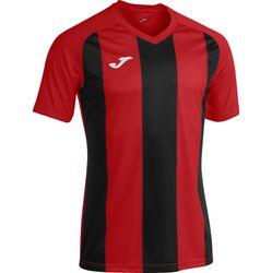 Joma Pisa II Shirt Korte Mouw Kinderen - Rood / Zwart
