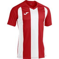 Joma Pisa II Shirt Korte Mouw Kinderen - Rood / Wit