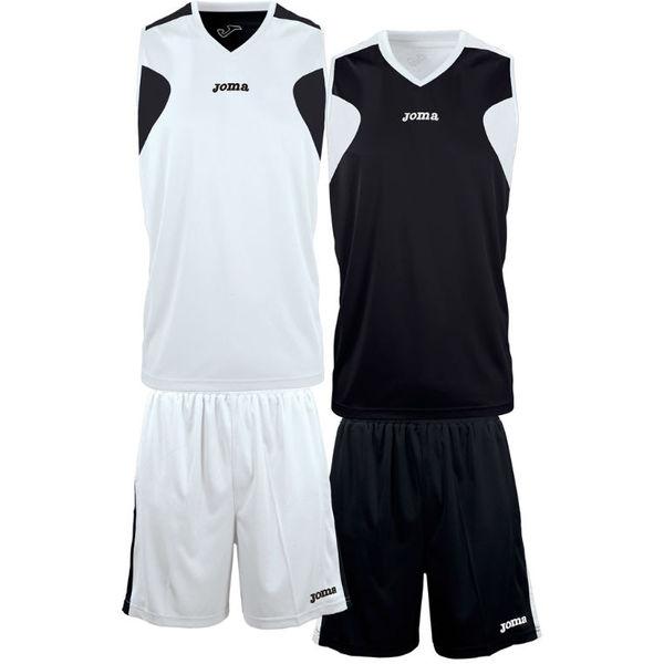 Joma Set De Basketball Réversible Enfants - Blanc / Noir