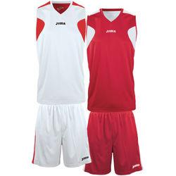 Joma Reversible Basketbalset Heren - Wit / Rood
